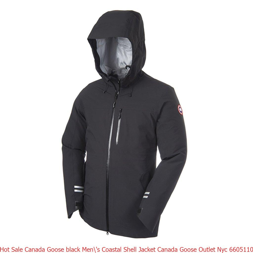 Hot Sale Canada Goose black Men  s Coastal Shell Jacket Canada Goose ... d261d376c521