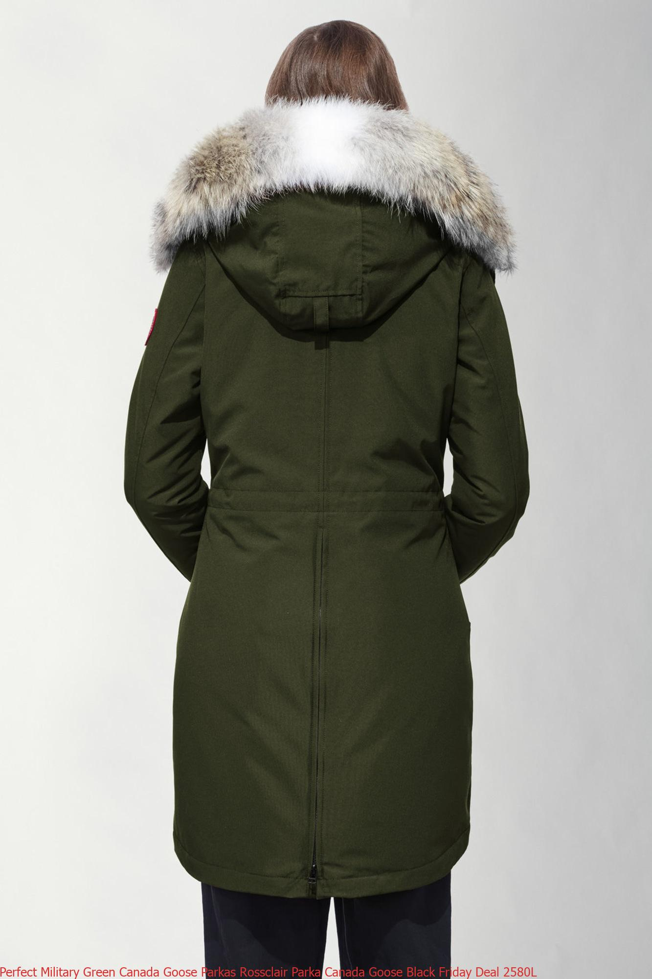 Perfect Military Green Canada Goose Parkas Rossclair Parka ...